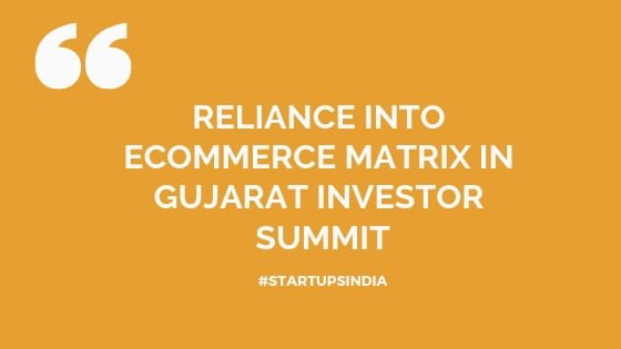 Reliance into ecommerce