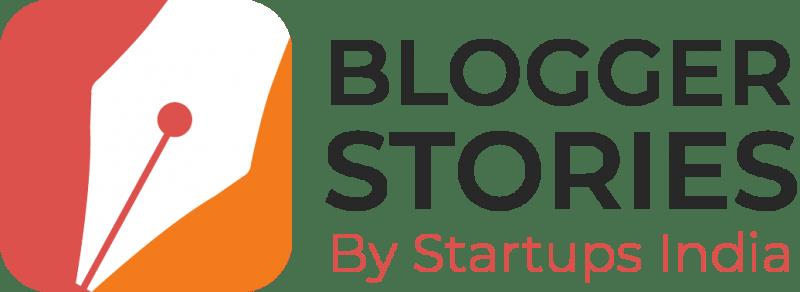 blogger stories logo black