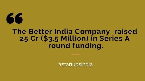 The Better India company